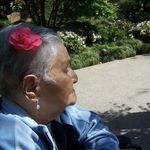 Japanese Gardens with Abuelita Lucia- she loved going outdoors and nature.