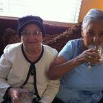 Tia Chuy and Grandma Lucia.