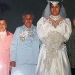 My wedding 24 years ago alongside my grandmas.