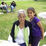Dary and grandma chica.