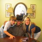 Grandpa with Ashton and Grayson