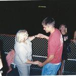 Jason and Nannie at his graduation party