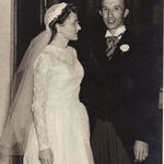 Ethel and Luther's wedding: September 10, 1949