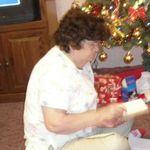 My Nannie at Christmas.
