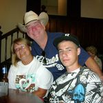 Nate McDaniel, his wife Ronda, and son Steven.  Houston TX