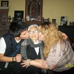 Grandma and her loved ones.<3