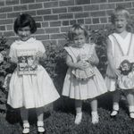 Ann with sisters Patty and M.J. (approx. 1959)