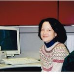 Ann at Discovery in the mid 1990s