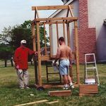 building a swing set in columbus
