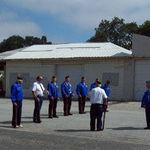 2008 Memorial Day tribute practice (American Legion)