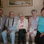 Bob, Frank, Doris, Eunice, and Jean