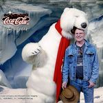 Hanging with the Coca-Cola bears in Las Vegas.  (June 2012)