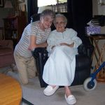 Doris and Eunice (sister-in-law)
