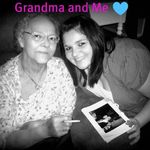 My grandma and me r.i.p our beautiful angel may you now sing with the angel's