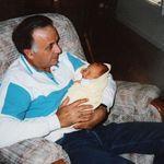 Jim with grandson Ryan.