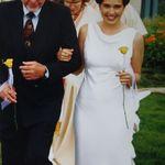 Walking daughter Bri down the aisle.