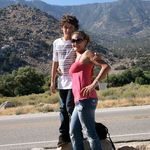 Robin and Fabian. Kern river trip.   She loved him like her own