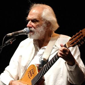 French singer GeorgesMoustaki performs during a concert in Zurich, Switzerland, Sunday, Nov. 7, 2004.  He died at his home in Nice, France, on may 23, 2013, at age 79