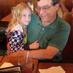 Mark with his granddaughter Haleigh