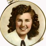 Mary Lou Alice (Wangler) Nickels-Button
