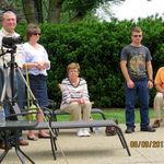 John and Peggy Allman, Faith MacFarland and Kevin MacFarland, Jr