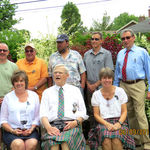 First Cousins:  back row:  Kevin, Kenny, Ralph, Jack and Robert   front row:  Peggy, Roy and Karen