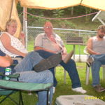 09- 4th july- his redneck awning,gotta love him.