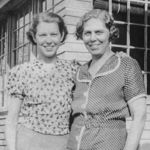 Wilma and Claribell Schultheiss 1937