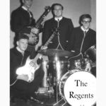 "John with Joe Beard, Brent Leckie, Mike Day, The Regents Band, mid ""'0's"