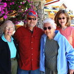 Margaret Schaninger in Tahoe with family