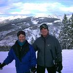 Marian and Bill at Vail