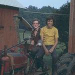 Best Friends!  Bill and Michael 1975.