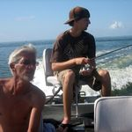 Bill loved fishing with Ben.