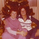 Mary Jane and my mother, May Burton, 1980's