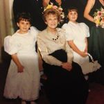 Grammie, Amanda and Jessie