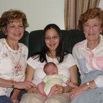 Donna, Joy, Claire & Ava