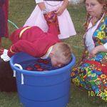 Halloween dunking for apples - 2004
