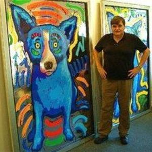 Blue Dog Artist George Rodrigue Biography For Kids Video