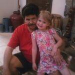 Bill and his Granddaughter Raley.