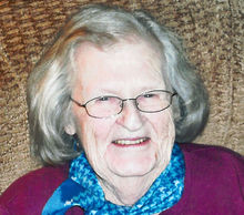 Barbara S. Thayer, 88, April 25, 1925 – April 12, 2014, Goffstown, New Hampshire