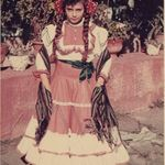 December 1957, age 12, Hacienda de San Ignacio, State of Mexico
