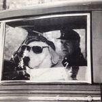 Bob & his dog, Major