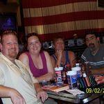 Crains and Garcias enjoying Vegas