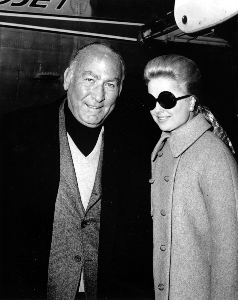 Martha Hyer and hal wallis