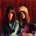Janis and Grace Slick, 1967