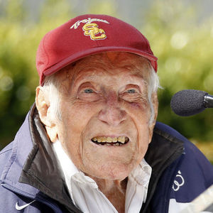 Louis Zamperini Obituary Photo