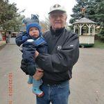 2013-10 Denny & g-nephew Colton Kenneth vanderWater