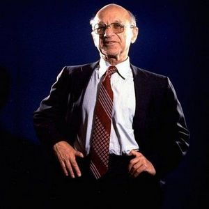 Milton Friedman Obituary Photo