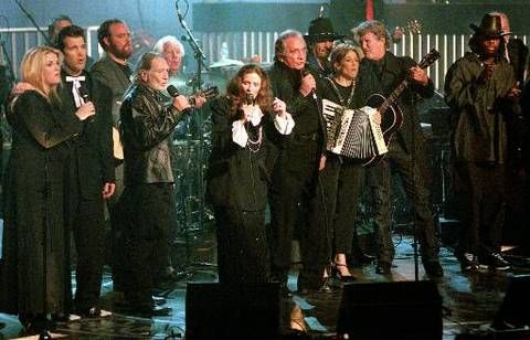 Johnny Cash And June Carter In New York 1999