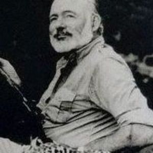 Ernest Hemingway Obituary Photo